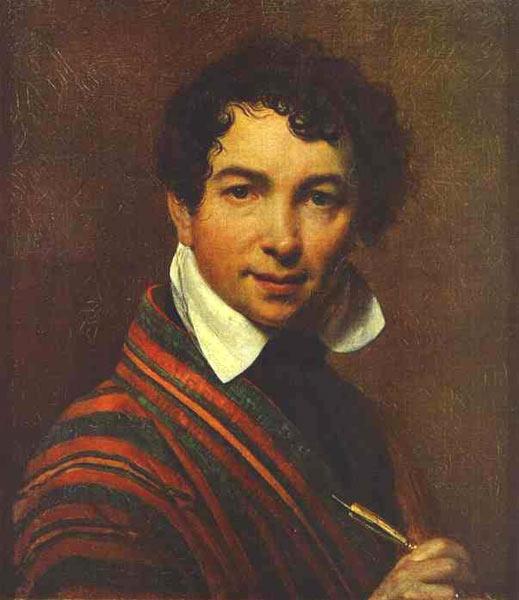 Кипренский о а портрет а с пушкина 1827г